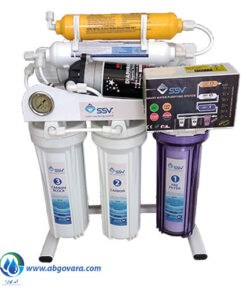 دستگاه تصفیه آب خانگی اس اس وی