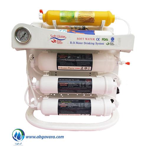 دستگاه تصفیه آب خانگی سافت واتر این لاین