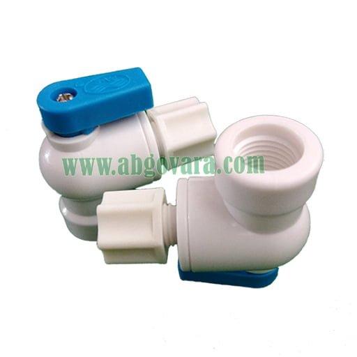 شیر ورودی و خروجی مخزن تصفیه آب