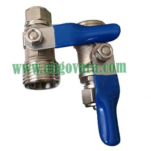 شیر ورودی دستگاه تصفیه آب نیمه صنعتی - فلزی 1/2