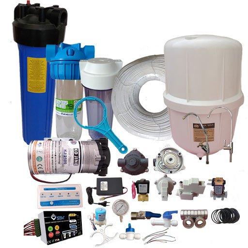 انواع قطعات دستگاه تصفیه آب